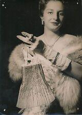 Mode c. 1955 - Maroquinerie Sac à Main Salon  Hôtel Continental Paris - PR 567