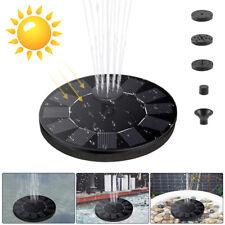 1.4W Solar Fountain Garden Pond Pool Floating Fountain Birdbath Water Pump Solar