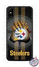 Pittsburgh Steelers Football Gloves Phone Case Cover For iPhone Samsung etc