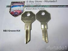 Key Blank for Hudson - Willys Jeep - AMC Rambler Nash up to 1960  (H1098M)