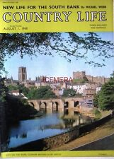1968 'On The Wear 'DURHAM BEYOND ELVET BRIDGE' - Country Life Cover Photo Print