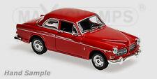 wonderful MAXICHAMPS modelcar VOLVO AMAZON P 121 2-DOOR 1966 - red - scale 1/43