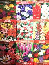 MIXED BEAUTIFUL GARDEN FLOWERS BULBS SPRING SUMMER PERENNIAL PLANT-QUALITY PACK