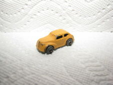 """DIECAST BARCLAY, CAMEL COLOR 39 BUICK """"GRILLE BARS SEDAN"""", 1950'S OLD TOY CARS"""