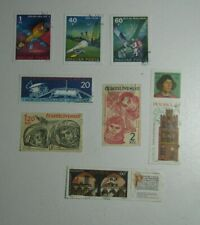 Set 8 Stamps Cosmos Space Exploration Czechoslovakia East Germany Hungary Poland