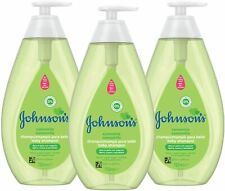 LOT OF 3 JOHNSON'S BABY SHAMPOO WITH CHAMOMILE, 750 ML / 25.3 OUNCE IMPORTED