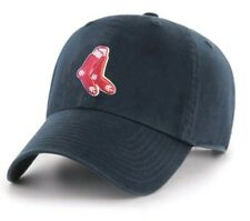 Boston Red Sox MLB Adult Cooperstown Adjustable Team Logo Navy Hats / Hat Cap