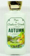 1 Bath & Body Works PEAR & CASHMERE WOODS - AUTUMN Hand & Body Lotion