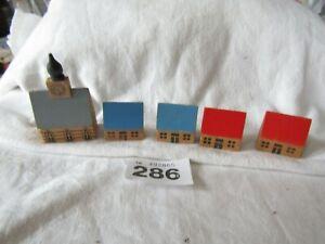 Miniature Wooden Church/Houses Bundle