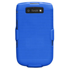 Combo Holster No Package Blue for BLACKBERRY 9810 Torch 4G BLACKBERRY 9800 Torch