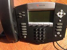 Polycom Voip Sound Point Ip550 Digital Ip Office Phone W Power Supply