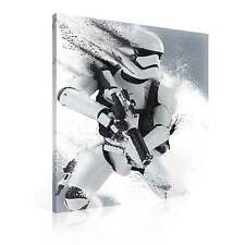 Deko bilder drucke auf leinwand mit star wars motiv ebay - Star wars wandbild ...