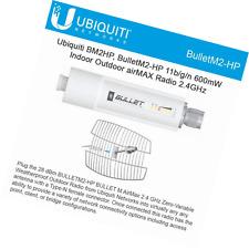 Ubiquiti Bullet M2 BM2HP HP 802.11g/n 100Mbps TDMA Access Point AirMax WiFi New