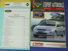 Revue technique l'expert automobile no RTA 378 Ford focus octobre 1999