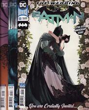 BATMAN #50 WEDDING VARIANT COVERS SET! DC Comics Jim Lee Arthur Adams Catwoman 1