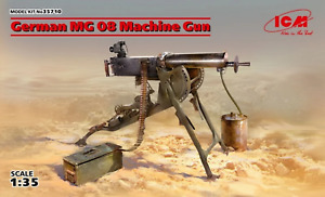 ICM 1:35 Ger. Mg08 Machine Gun, #ICM35710