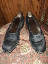 TOD's Moccasin Loafer Black Calf Hair Women Shoes Size EU 37.5 / US 6.5