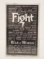 FIGHT - WAR OF WORDS CASSETTE  TAPE ~ ROB HALFORD JUDAS PRIEST VERY GOOD CONDITI