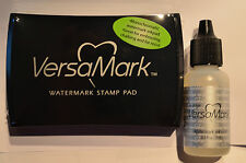 VERSA MARK  INK  PAD & Refill 2 pieces    NEW Stampin Up
