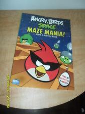 2012 ANGRY BIRDS SPACE MAZE MANIA ( MAZE & ACTIVITY BOOK) COLLECTIBLE