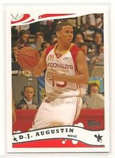 D.J. Augustin 2006 Topps McDonalds All-American Rookie