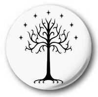 "TREE OF GONDOR - 25mm 1"" Button Badge - Novelty Cute Lord Rings Tolkien"