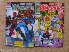 Comics, The New Warriors, nº 18 y 19, Stan Lee, Forum, Marvel, años 1992 y 1993