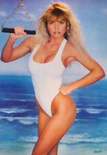 LOT OF 2 POSTERS: WORKOUT 3 - SEXY FEMALE MODEL  - FREE SHIPPING ! #3033  RC41 D
