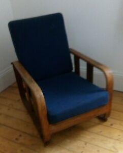 A 1930s Heals bentwood armchair