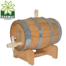 Botte botticella 5 Litri legno Castagno lavorazione artigianale vino distillati