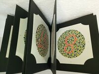 Ishihara book for colour deficiency test