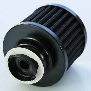 Valve Cover Breather Cap Twist In Holden/Chevrolet Black Top and Element