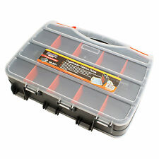 Portable Plastic Organizer Storage Case Tool Box Case Double Sided SMT-MD1