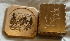 More details for girl guiding woodcutter item of our chalet musical box and coaster