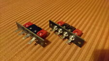 Speaker connectors Pair NOS - Marantz, Harman ,Nad ,Rotel , EICO