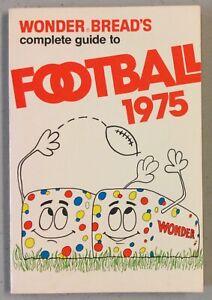 1975 Wonder Bread NFL Football Guide
