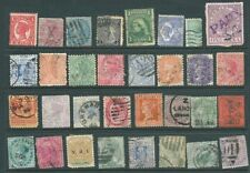 Pre-Decimal Handstamped British Colony & Territory Stamps