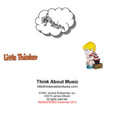 Little Thinker - Think About The World of Music - New Cd remastered fm cassette