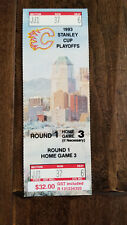 1992-93 1993 KINGS @ FLAMES STANLEY CUP PLAYOFFS FULL TICKET GAME 5 GRETZKY GOAL