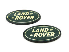 2 X Original Land Rover 1/4 Verkleidung Emblem L316 Schutz & L315 Freelander 1