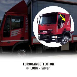 Decor Kit Decorazione Adesiva Eurocargo Tector Cabina Lunga, Argento