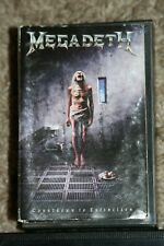 MEGADETH COUNTDOWN TO EXTINCTION TRASH HEAVY METAL 1989 CASSETTE DAVE MUSTAINE