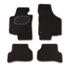 Auto Fußmatten Autoteppich für Seat Altea XL 5P5 5P8 2008-14 Velours CASZA0104