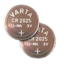 VARTA CR2025 Knopfzelle Batterie 3V lose 2 Stück
