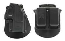 Fobus Gl2-emz Paddle Holster With Belt Attachment - Glock