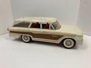 Vintage 1960's Buddy L Pressed Steel Ford Station Wagon