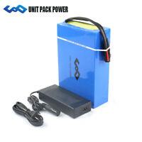 10Ah 24V 240Wh E-Bike Akku Li-Ion Pedelec Elektrofahrrad Batterien mit Ladegerät