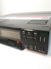 Sony Super Betamax Vcr Model Sl-Hfr70 Tested To Power On