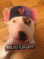 Bud Light Baseball Spuds Mackenzie Mets Mask