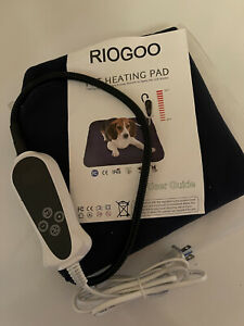 Riogoo Pet Heating Pad, Electric Heating Pad For Dogs And Cats Indoor Warming 🔥